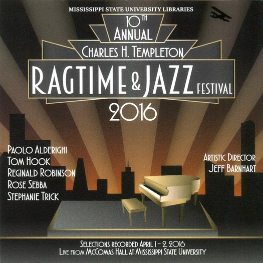 Selections from Ragtime Festival 2016