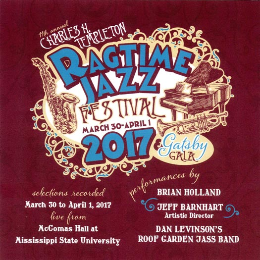 Selections from Ragtime Festival 2017
